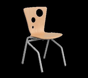 Mobilier scolar scaun elevi 4 pat cu sistem de asezat pe masa